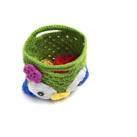 bags wool hat - Malloom PC Knitting Wool Newborn Baby Small Bag Knit Hat Costume Photography Prop