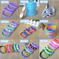 Wholesale 50x Best friends silicone Bracelet Wristband cosplay Party Multicolor Size mm mm mm