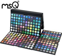 cosmetic mineral makeup - MSQ Professional Facial Beauty Tool Full Color Cosmetic Waterproof Eyeshadow Palette Mineral Makeup Set Party Casual And Wedding Makeup