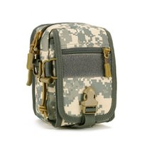 Wholesale Hot New Arrival Bicycle Carrier Outdoor Riding Bag Camo Man Bag Small Pockets Leisure Package Waist Belt Bag Travel Wallet
