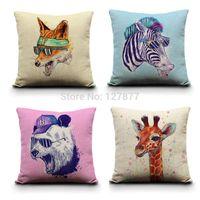 animal portfolio - Cool Animal Series Portfolio Cushion Pillow Minimalist Home Decor Pillows Decorative Pillow x18 Pillow cover Cushion Covers