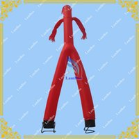 Wholesale Yellow Inflatable Air Dancer Man m Height Fast Delivery colors for your selection Good Quality