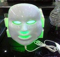 Wholesale Photon Therapy Facial Skin Care Treatment Machine Facial Toning Wrinkle Remove LED Skin Rejuvenation Mask Blue Red Green Photon Light