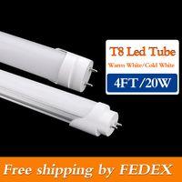 tube light - 30pcs T8 Led Tube Lights ft W mm super Bright Led bulbs Tubes Warm Cool White Led Fluorescent ft Light AC85 V CE ROHS SAA UL