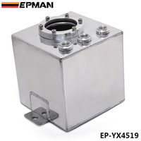 Wholesale EPMAN L Billet High Flow Fuel Filter Swirl Surge Pot Tank Assembly In Sliver in stock EP YX4519