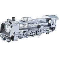 Wholesale Steam Train DIY d Laser cut jigsaw puzzle models Metal works for Educational and learning Toys or killing time