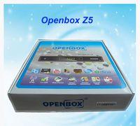 Wholesale 2015 Latest Version OpenBox Z5 HD Set Top Digital Satelliate Receiver openbox z5 hd OPENBOX S10 HD Upgrade Support USB WIFI