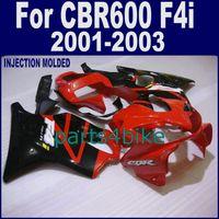 body kit - 100 racing Injection body kits for HONDA CBR F4i fairings CBR600 F4i black new red fairing kits JDSZ