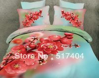 Cheap Fashion peach bedspreads queen,Cotton 4pc bedding set without the filler,500TC cotton red peach bedding sets queen size 071919