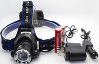 cree led zoom - Cree XM L T6 LED Headlamp Head Light Zoomable LM X Battery Charger