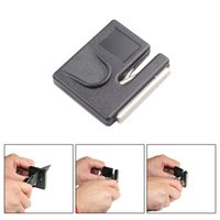 Wholesale Aiguiseur Couteau TAIDEA Mini Portable Knife Hook Diamond Sharpener for Knives Outdoor Sharpening Tool Kitchen Accessories order lt no track