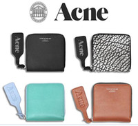 acne designer - Acne studios Slim Wallet Women Purse Genuine Leather Womens Wallets Mini Small Luxury Designer Wallet Famous Brand acne wallet