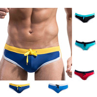 Wholesale Men s Swimming Trunks Mens Sexy Swimwear Shorts For Sport Swimsuit Sunga Masculinas Color M L XL XXL Plus