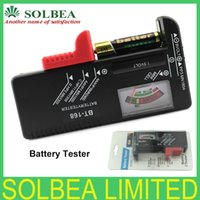 Wholesale 1pcs BT Universal Battery Tester For V V And Button Cell AAA AA C D