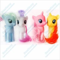 Wholesale Mixed colors My little pony Loose Action Figures toy CM Pony Littlest Figure Xmas Gift For Kids HKT02