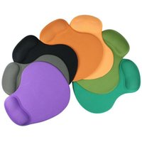 Wholesale New Fashion Multi Colors Mouse Pad With Gel Wrist Support for PC Notebook Laptop Jecksion