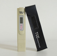 Wholesale Digital TDS Meter Tester Filter Water Quality Purity tester Pen Stick Tester TDS TEMP PPM with case