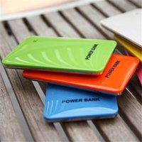apply power supply - 8000mAh Colorful with touch of mobile power supply applies to iphone and samsung mobile phone