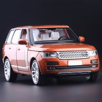 best gifts range - High Simulation Exquisite Collection Toys CaiPo Car Styling Range Rover Off Road Model Alloy SUV Car Model Best Gifts