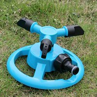 automatic greenhouse watering - 1Pcs x3 Mobile Automatic Degree Rotary Spray Head Garden Lawn Sprinkler Irrigation Watering For Garden Greenhouse