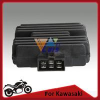 Wholesale Motorcycle Voltage Regulator Rectifier for Kawasaki ZR250 BJ250 B1 ESTRELLA ZXR250 ZZR400 ZR400 ZR S ZR order lt no track