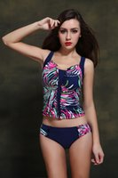Wholesale Chinese famous brand swimwear new foreign trade in Europe and the big yards sexy colors fission triangle swimsuit