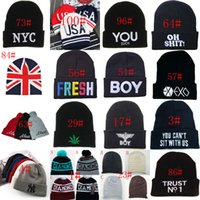 Wholesale 108 styles mixed Winter Beanies Hats Unisex Knitted Caps Neff Beanie Bboy Beanies Hiphop Fashion Hats Basketball fans caps hot sale
