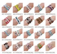 Wholesale 2015 Christmas Hot selling DIY Olive Branch Owl multilayer Bracelet friendship bracelet braided bracelet multi style multi color