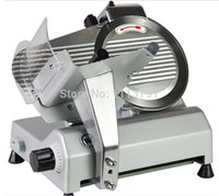Wholesale 10 quot semi automatic slicer Meat Slicing Machine Electric Meat Slicer Cutter Use for Home Restaurant Hotel