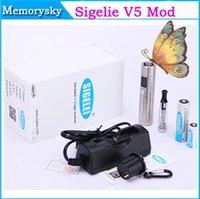 achat en gros de zmax mini-vv vw-L'arrivée de nouveaux origine Sigelei Mini Zmax V5 corps Batterie Zmax V5 Kit VV VW Mod mécanique avec écran OLED se adapte 18350 18650 Batterie Mod 002 634