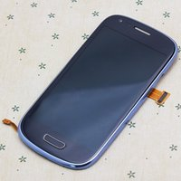 Wholesale 5pcs White LCD touch screen with digitizer Assembly For Samsung Galaxy S3 mini i8190 lcd high quality DHL