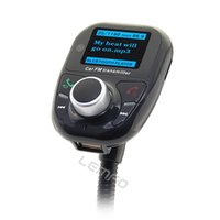 Wholesale Car Kit Bluetooth FM Transmitter Support TF Card USB Disc Hands Free Calling For iPhone iPhone Plus Samsung Galaxy S Note Moto Sonny