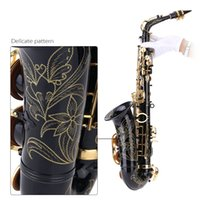 Wholesale 82Z Key Classic Type bE Alto Saxphone Brass Lacquered Gold E Flat Sax with Cleaning Brush Cloth Gloves Cork Grease Strap order lt no track