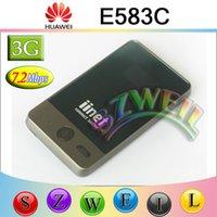 Wholesale New Arrival HUAWEI E583C Portable G HSDPA MIFI WIFI Mobile Broadband Wireless Modem Router MBPS Unlocked G