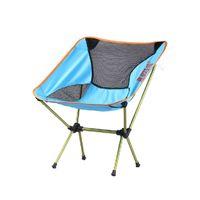 aluminium outdoor chairs - Portable Outdoor Furniture Aluminium Alloy Folding Chair Folding Fishing Chair HF9100
