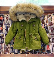 Wholesale 2015 New Fashion children coats raccoon fur washing suit pant coat children coat size kids hooded outwear girls and boys
