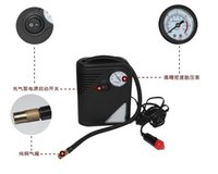 air supply tools - Car Auto Inflatable Pump Air Pump Emergency Air Compressor Cigarette Lighter Power Supply Tire Tools