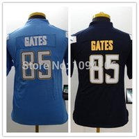 authentic gates jersey - Factory Outlet Kids Antonio Gates Jersey Dark Blue New Youth Authentic Stitched Football Jerseys Cheap Boys Jersey