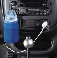 Wholesale 12V Portable DC Car Baby Bottle Warmer Heater Cover Portable Food Milk Travel Cup Covers