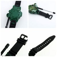 Wholesale 1 Pair Watches Walkie in quot LCD Radio M Talkie w Lights Mic Brand New