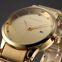 Wholesale Gold Taylor Cole Luxury Brand Wristwatch Relogio Feminino Date Display Women Dress Watches Fashion Casual Quartz Watch TC020