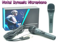professional karaoke system - Hot Sale Professional Metal Mic Wired Vocal Dynamic Microphone System For Computer KTV Karaoke Stage DJ Handheld Microphone