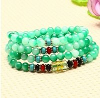 Wholesale Handmade Strecth Bracelet Elastic Jade Bracelet Exquisite elegant fashion for women