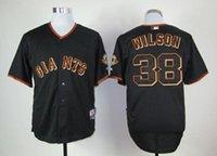 Wholesale San Francisco Giants Wilson Mix Order All Kinds Of Excellent Workmanship Orange Black Baseball Jerseys Best Quality Lowest Price