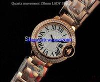 Wholesale WOW New Luxury Ladies Japan Quartz Movement Watch good Rose HOT Luxury Bezel mm Women s Fashion Wrist Watches