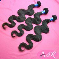 human braiding hair - 6A Grade Human Hair Extensions Online Unprocessed Peruvian Body Wave Hair Weaves Extensions Human Hair Braiding Styles