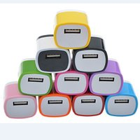 Wholesale 5V A amps Wall Charger Travel Adapter For iPhone Plus S S Samsung s4 s5 s6 edge Smartphone DHL Free