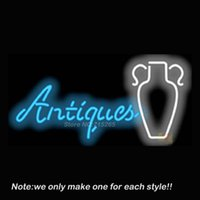 antique store advertising - Antiques Neon Sign Pub Store Beer Pub Recreation Room Windows Sign Neon Signs Club Display Advertising Gifts x16