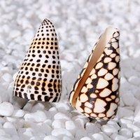 aquarium marbles - New CM Shell Marble Conch Household bathroom products Mediterranean romance platform Decorative fish tank aquarium shell