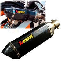 Wholesale Motorcycle Modified Exhaust Scooter Muffler Akrapovic Exhaust For CBR CBR125 CBR250 CB400 CB600 YZF FZ400 Z750 RACING